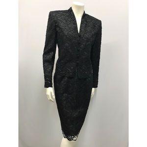 Christian Dior Lace & Sequin Skirt Set NWT SZ 4